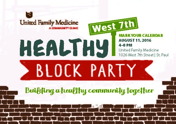 Healthy West 7th Block Party
