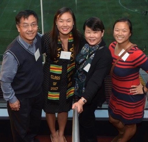 Dr. Jenny Zhang and family