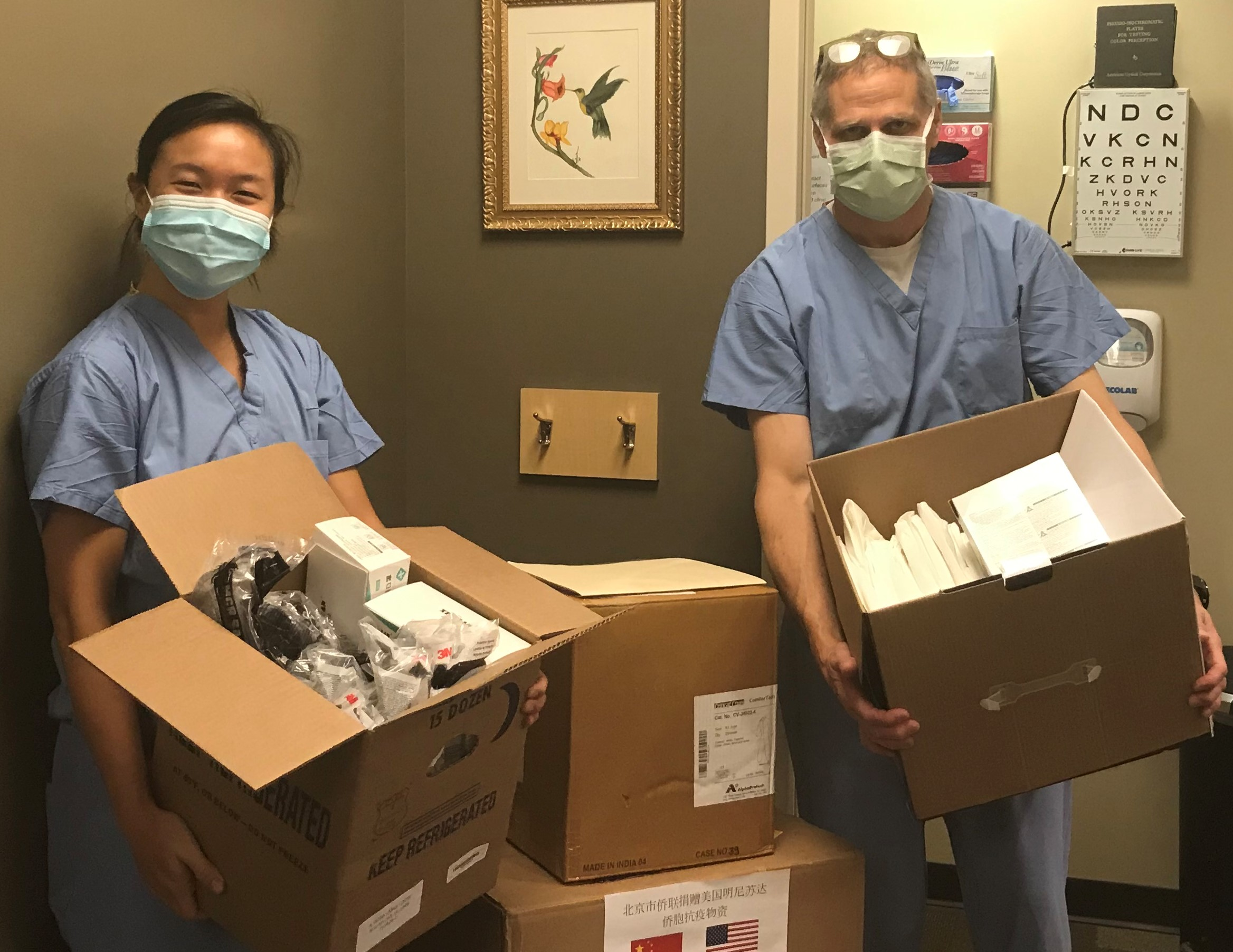 Dr. Jenny Zhang and Dr. Mike Mercer