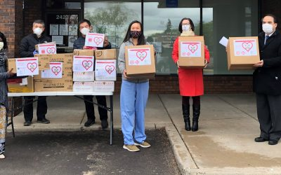 Resident's Effort Leads to Major Donation from Minnesota Chinese Community